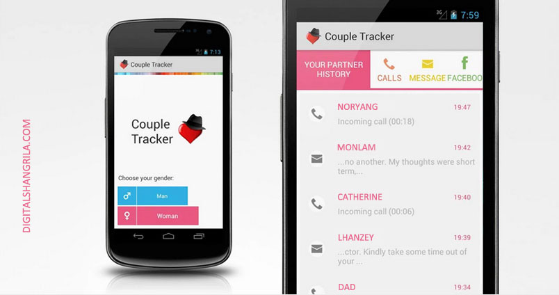 Apps for Couples - Couple Tracker