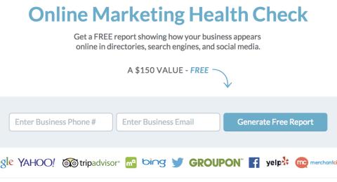 Free Online Marketing Health Check