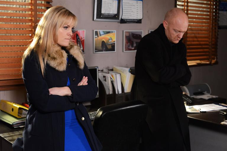 Tanya questions Max over why he didn't tell her about Kirsty's pregnancy.