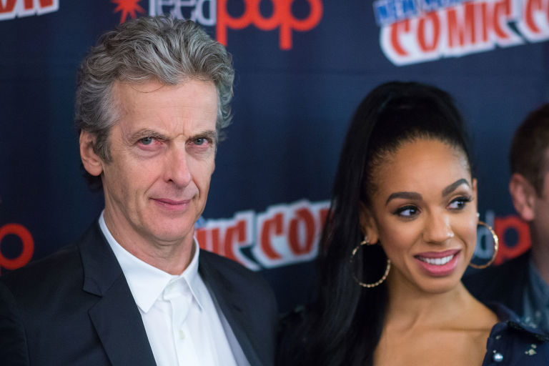 'Doctor Who' stars Peter Capaldi and Pearl Mackie at New York Comic Con 2016