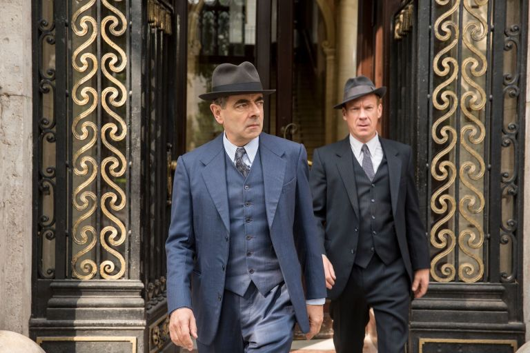 Rowan Atkinson as Maigret in 'Maigret's Dead Man'