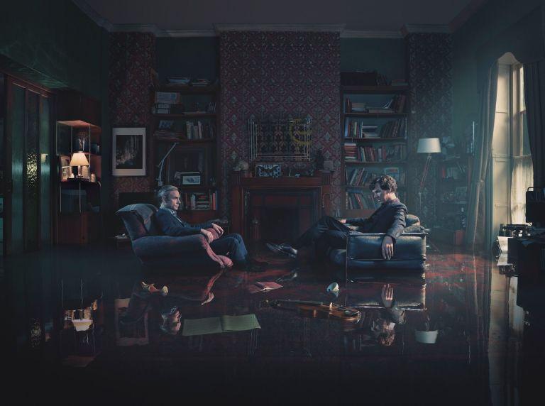 Sherlock: series 4 iconic image
