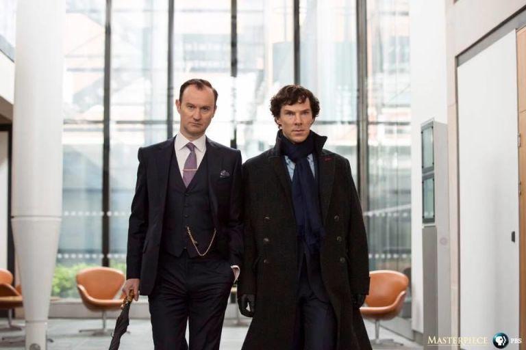 Mycroft Holmes, Sherlock series 4