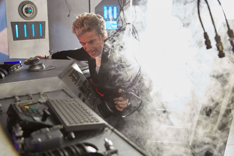 Peter Capaldi in 'Doctor Who: The Return of Doctor Mysterio'