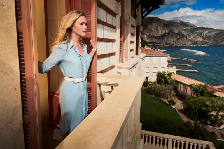 Julia Stiles in Sky Atlantic's 'Riviera'