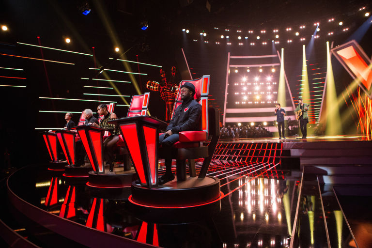 The Voice UK coaches Gavin Rossdale, Tom Jones, Jennifer Hudson, will.i.am