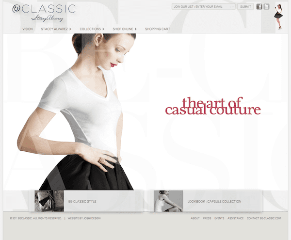 Be-Classic Home Page