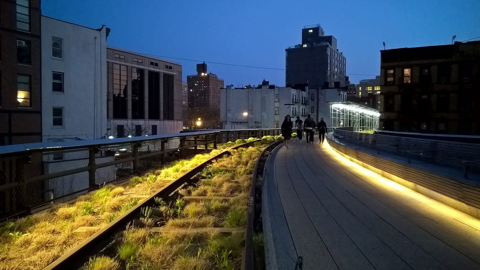 The High Line - Excellent dynamic range capabilities