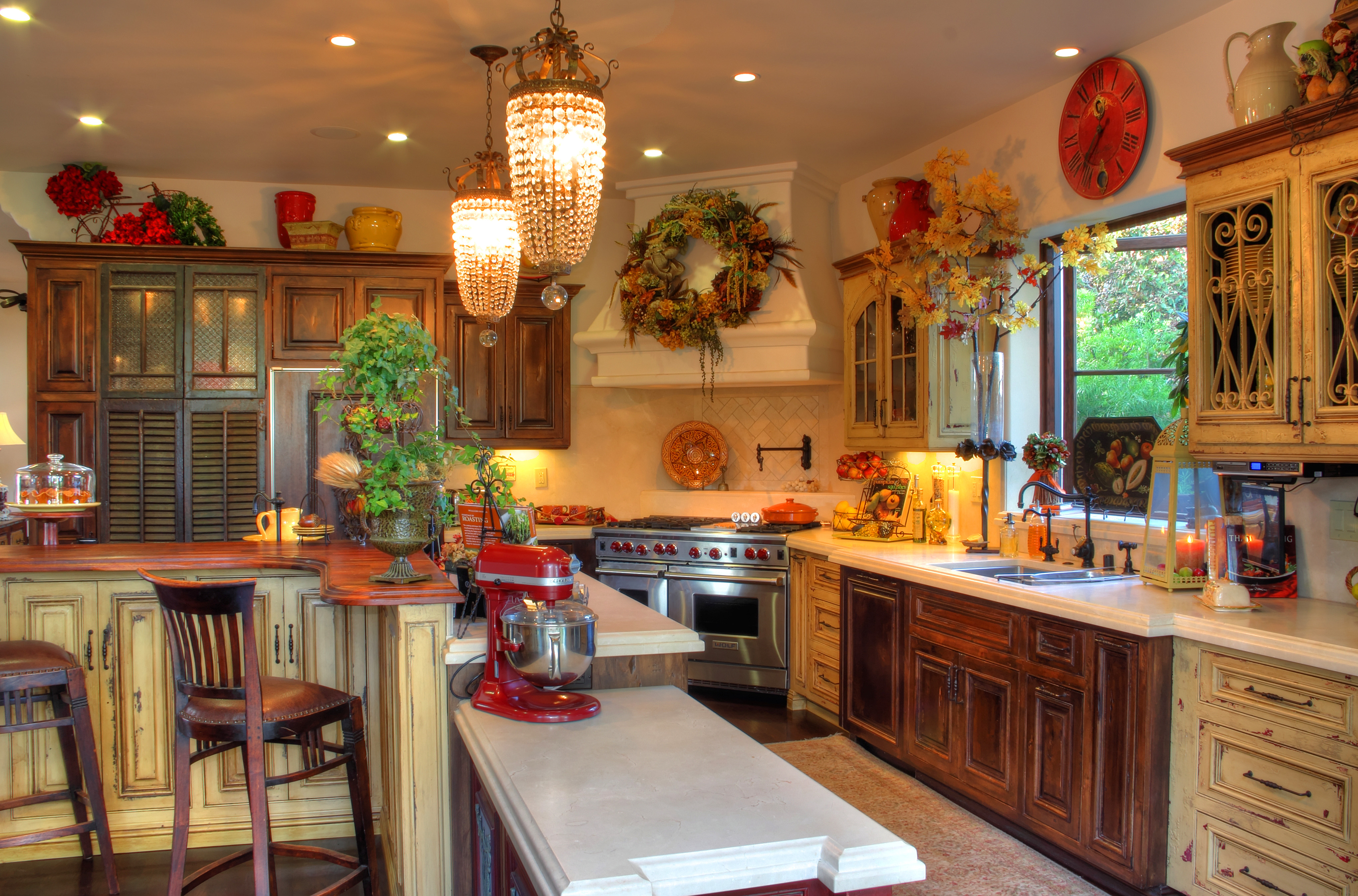 img colonial kitchen design Sweet Digs Old L A reincarnated A modern day remodel revives the s kitchen