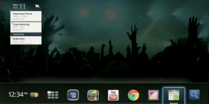 Google TV 2.0 Home Screen