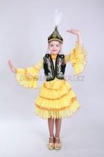0072. Казахский национальный костюм для девочек