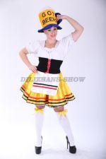 3984. Женский немецкий костюм. Октоберфест. Официантка.