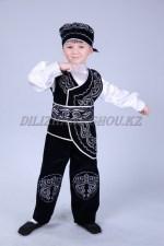 0001. казахский костюм для танца кара жорга