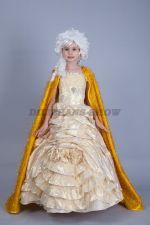 5100. Принцесса в золотом платье