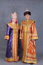 5755. Парные костюмы. Царь с Царицею.