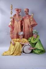 1255r. Африканские национальные костюмы (2)