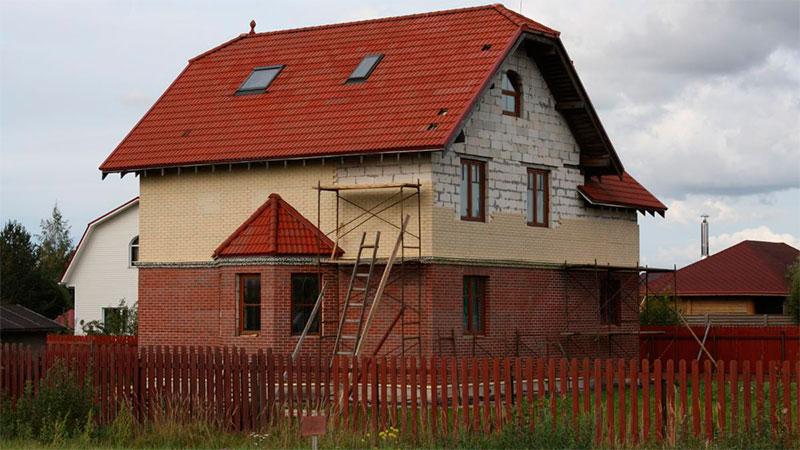 отделка дома из газобетонных блоков