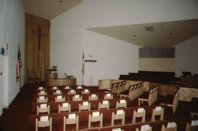 WORSHIP SPACE AND CHOIR