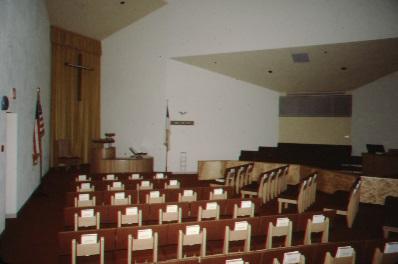 WORSHIP SPACE AND CHOIR