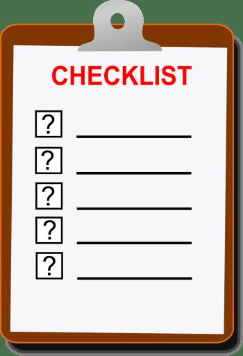 checklist-310092