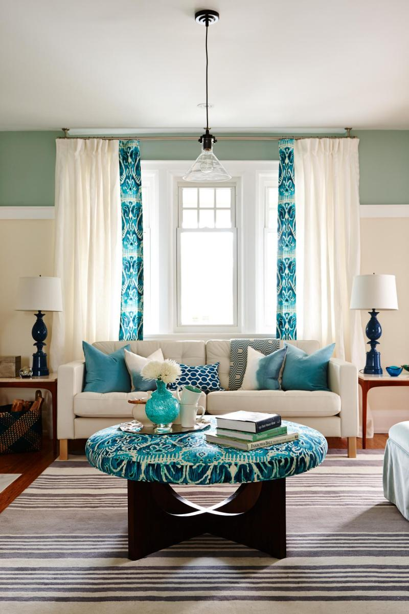 Large Of Colorful Living Room Interior Design
