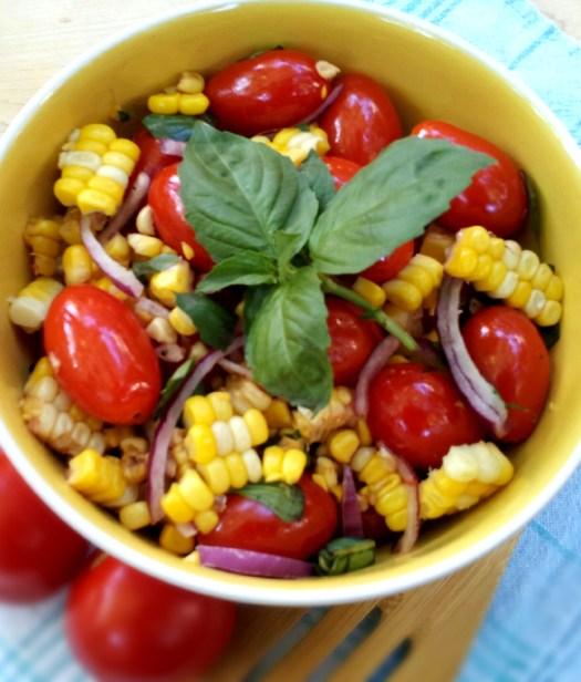 Tomato & Sweet Corn Salad