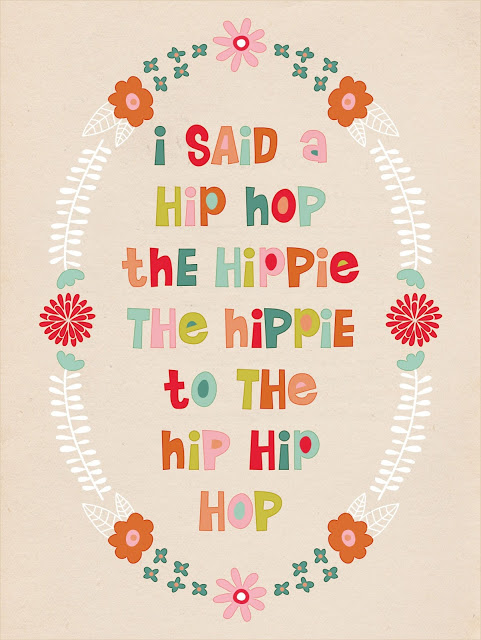 Rapper's Delight Easter Printable