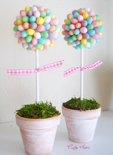 Easter Jelly Bean Topiary