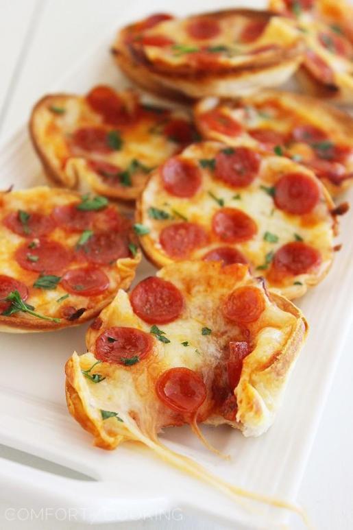 Mini Tortilla Pizza