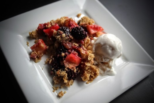 Blackberry Toffee Crumble (1)