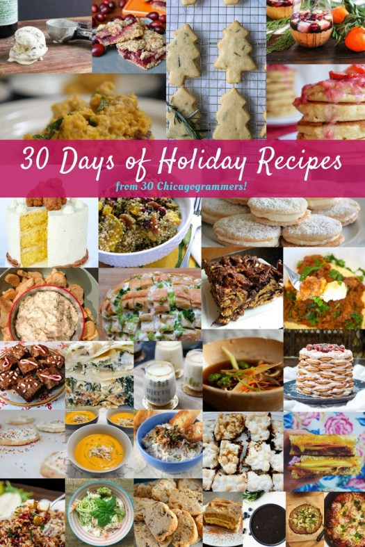 30 Recipes for the Holidays!