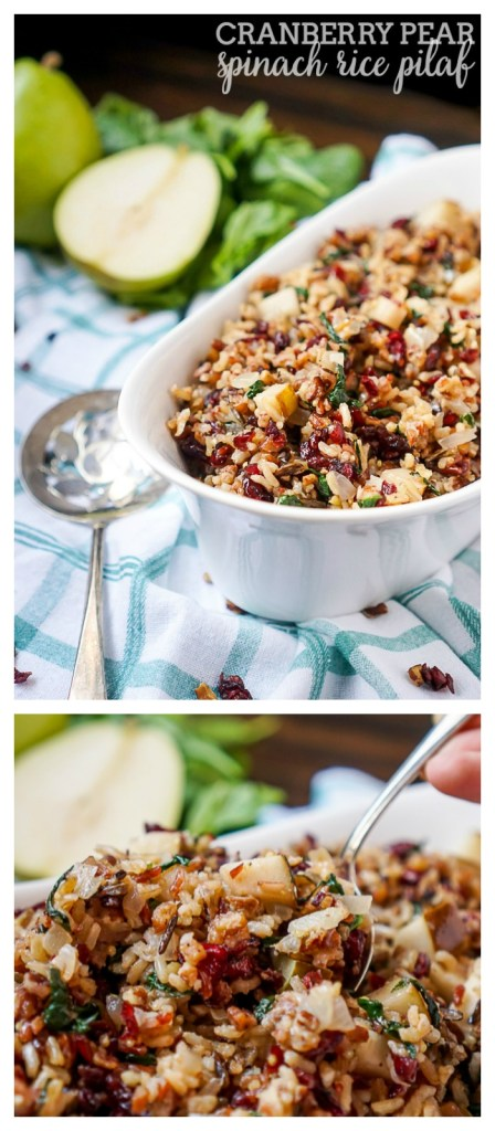 Cranberry-Pear-Spinach-Rice-Pilaf-LONG-PIN