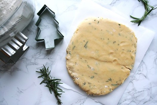 rosemary-shortbread-cookie-dough
