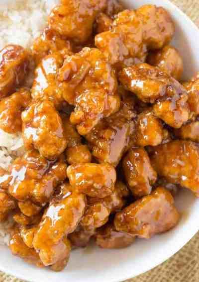 Panda Express Orange Chicken (Copycat) - Dinner, then Dessert