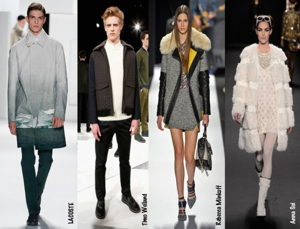 2013 New York Fashion Week - Rough Textures Trends - Lacoste - Timo Weiland - Rebecca Minkoff - Anna Sui