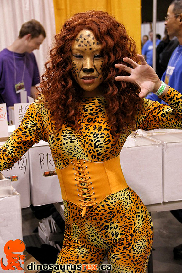 cat cheetah girl cosplay