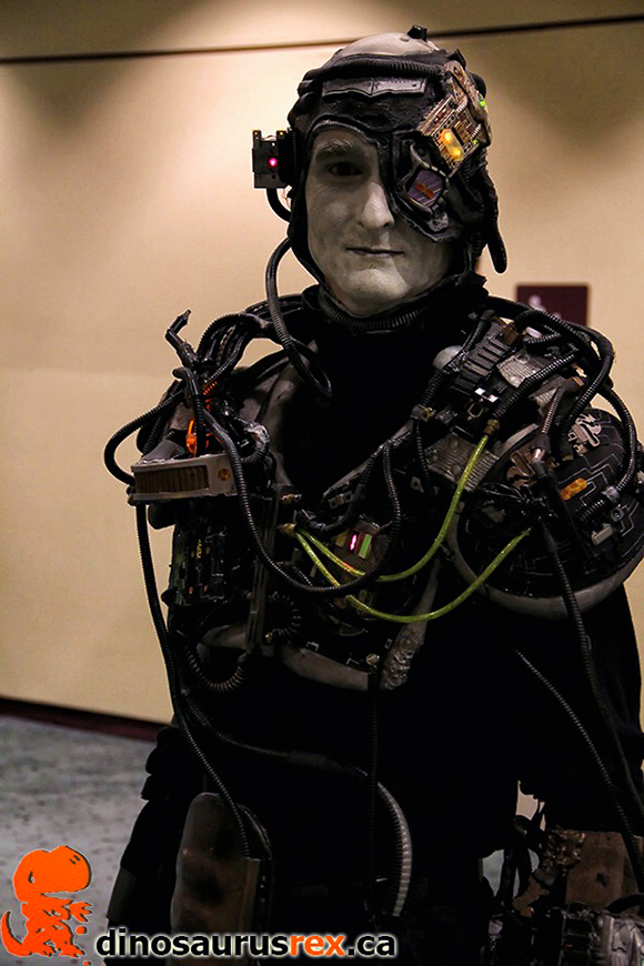 star trek borg cosplay