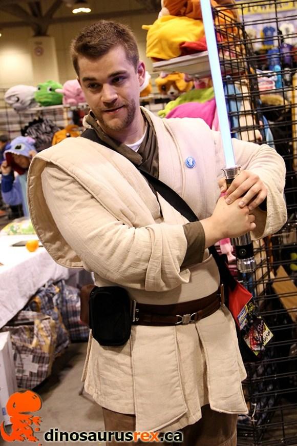 Cosplay Obiwan Kenobi Jedi