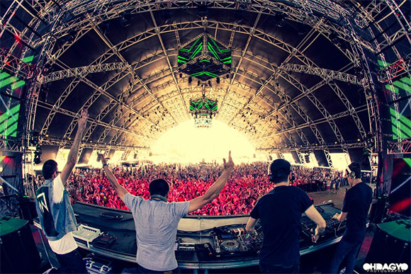 Dirtyphonics at Coachella 2013 - Irreverance Tour