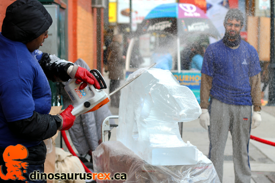 Ice, Wine & Dine - Ice Sculpting - Winter Magic Festival