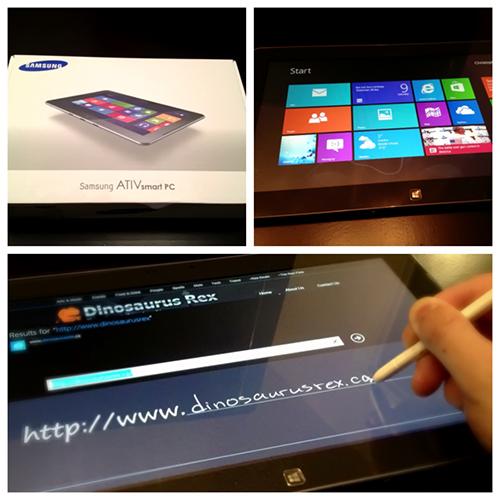 Samsung ATIV 500T - Intel Tablet Crew