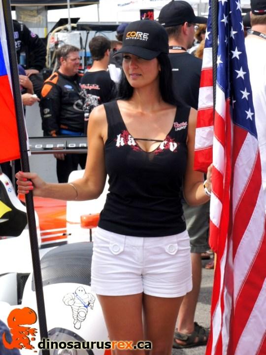 Flag girl 5