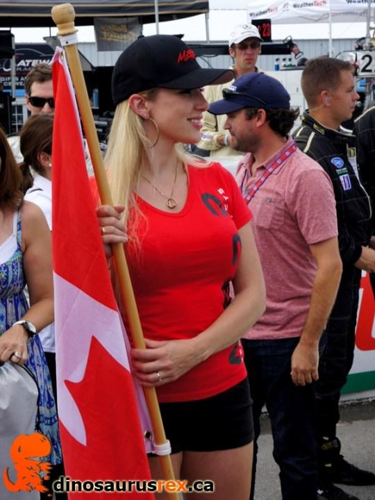 Flag girl 3
