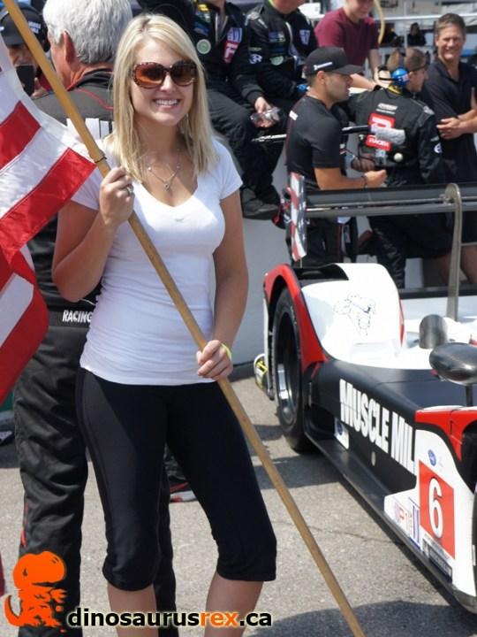 Flag girl 4