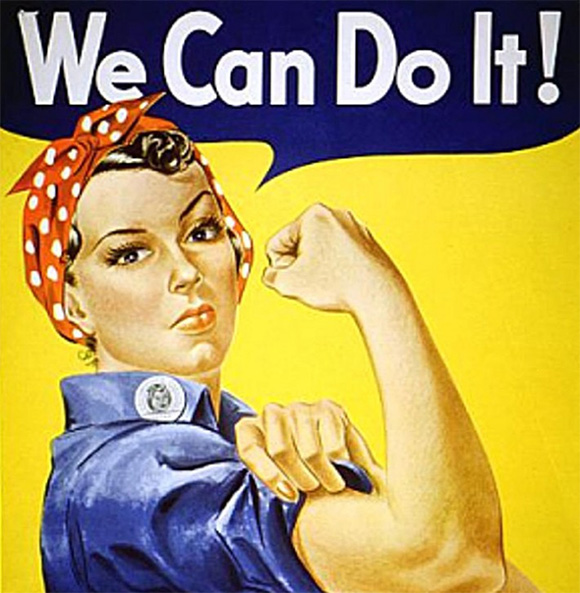 Women at Work - We Can Do It