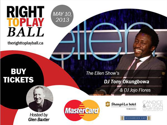Right To Play Ball 2013