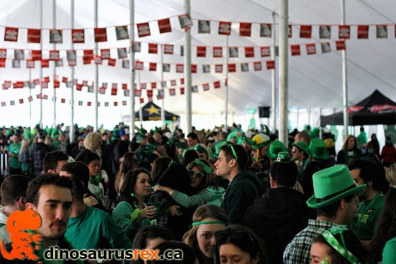 Budweiser's St Party's Day 2013 - Toronto 11