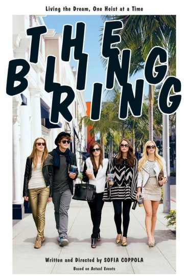 The Bling Ring Film 2013 Poster