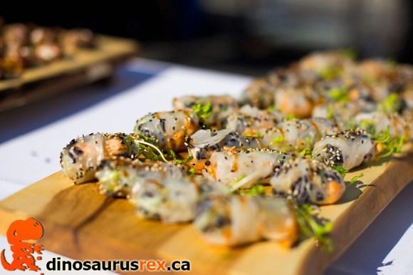 toronto taste 2013 - fresh rolls