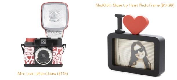 Mini Love Letters Diana and ModCloth Close Up Heart Photo Frame
